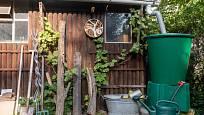 Ke sběru dešťovky je vhodné využít třeba i střechu zahradního domku.