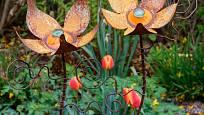 V zahradě můžeme dát šanci i kovářskému řemeslu.