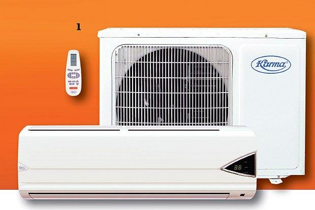 Klimatizace Karma K-09 místnosti nejen ochladí, ale také dokáže vyhřát