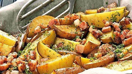 brambory zapečené s brynzou