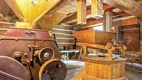 Vnitřní vybavení parního mlýnu