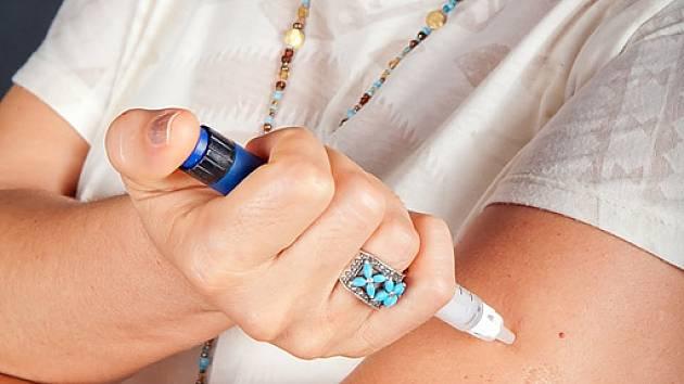 aplikace inzulínu