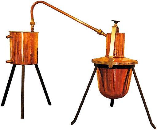 replika stolní pálenice z rakouska