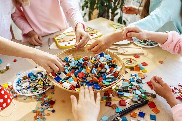 Tvoření mozaiky
