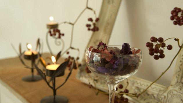 Pot-pourri jako voňavá a záloveň půvabná dekorace