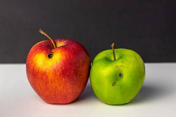 Při nákupu ovoce bychom se měli všímat, zda není poškozené.