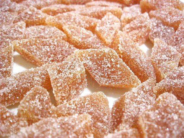 Kdoulové bonbony
