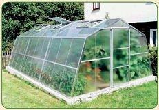 Nejvhodnější tvar skleníku
