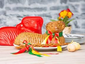 Forma na pečení velikonočního beránka.
