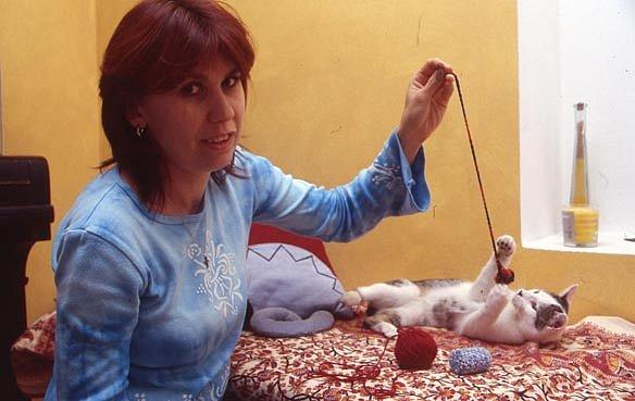 Ivana Klímová, asistentka v bance
