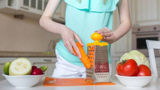 Struhadlo je neocenitelným pomocníkem v kuchyni