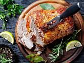 Vepřové maso pečené v hořčici