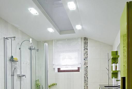 světla v koupelně