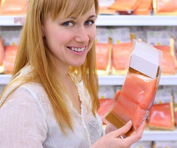 Omega–3 nenasycené mastné kyseliny se nacházejí v rybím mase.
