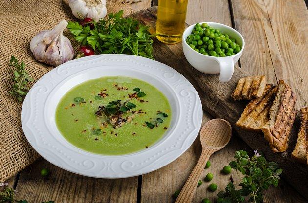 Krémově husté polévky oceníme zvlášť v zimních měsících.