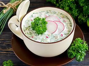 Ředkvičková polévka s rýží