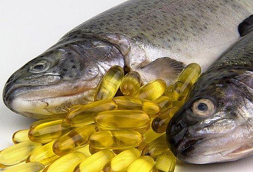 doplňky stravy - rybí tuk
