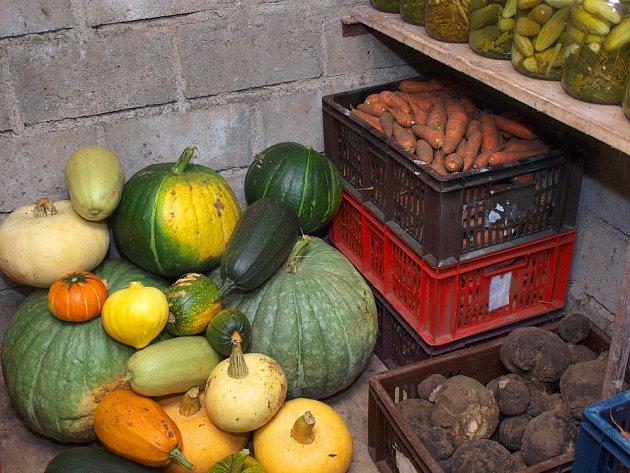 Zeleninu skladujeme v plastových přepravkách.