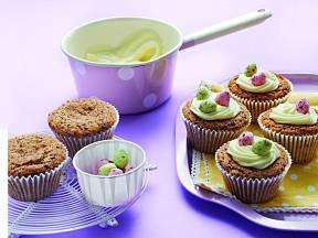 Zdobené velikonoční muffiny