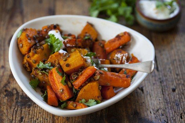 Pečená dýně je skvělý do polévky i zeleninových směsí