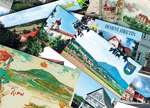 Pohlednice vydaná v malé sérii 300 kusů vyjde obec na 1800 Kč.