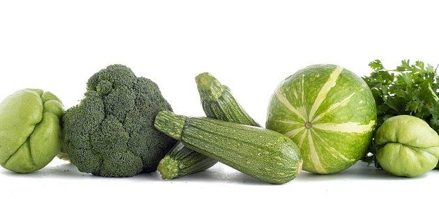 Zelenina zelené barvy plodů se nejlépe hodí pro Blížence nebo Ryby