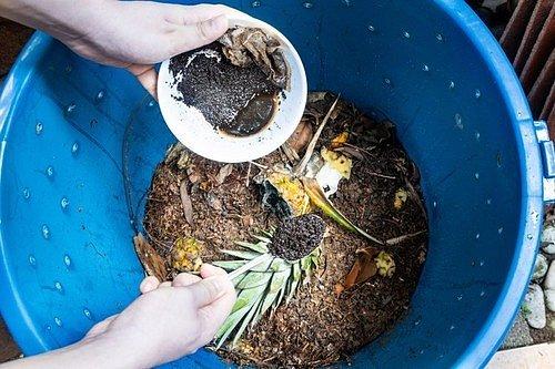 Kávová sedlina je totiž přímo nadupaná dusíkem, který kompost nejen provzdušní, ale zároveň urychlí procesy kompostování.