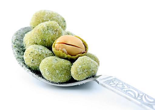 burské oříšky ve wasabi krustě