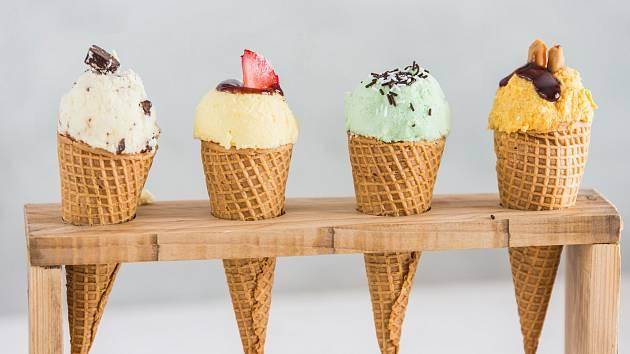 Zmrzlina v létě osvěží
