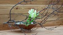 Ikebana má skrytý mystický i filozofický podtext.