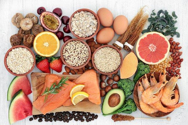 Zdravé ppotraviny dodávají našemu tělu psychickou i fyzickou energii