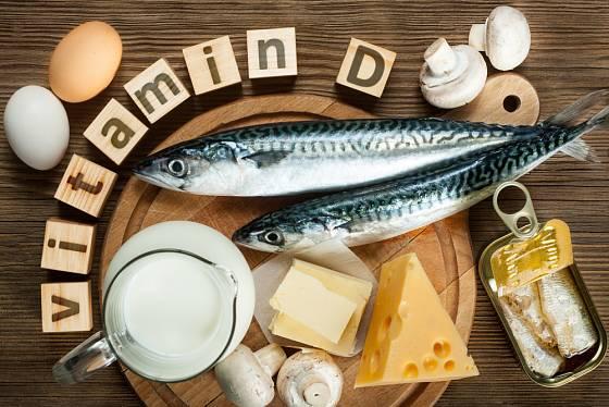 Vitamin D načerpáte ze slunečních paprsků.