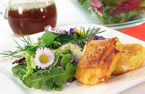 sedmikráskový salát