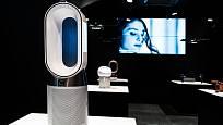 Ventilátor má futuristický design