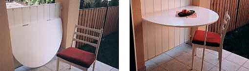 sklápěcí stolek