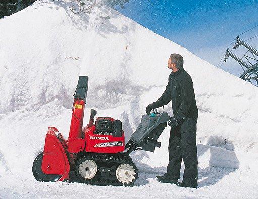 hybridní sněhová fréza