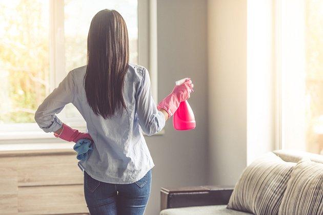 Dezinfekci domácnosti zvládne octový čistič