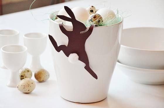Zvědavý velikonoční zajíček
