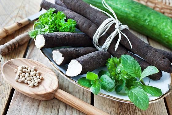 ovesný kořen, chutná a zdravá kořenová zelenina