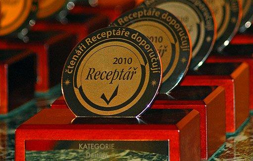 Čtenáři receptáře doporučují, 2010