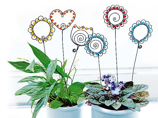 Ozdoby ke květinám