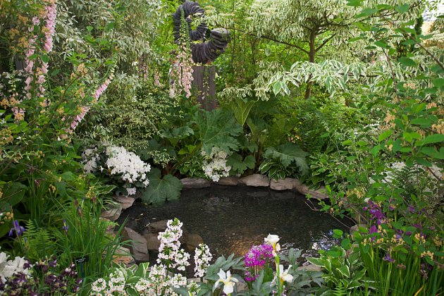 Zahradní jezírko je klenotem každé zahrady