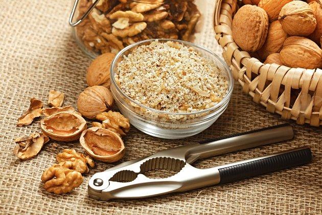 Pro vánoční pečení jsou vlašské ořechy jednou ze základních surovin.