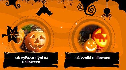 halloweenský rozcestník