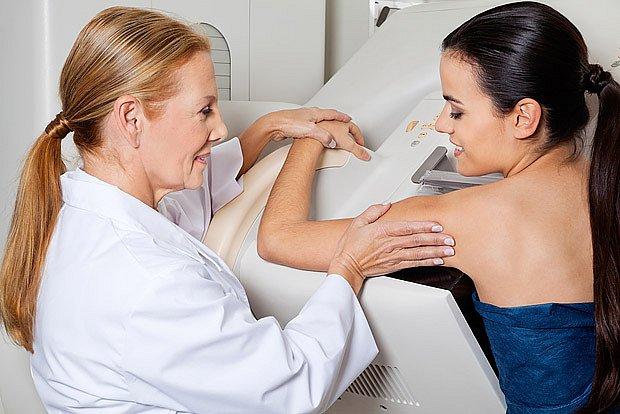 příprava na vyšetření mamografem