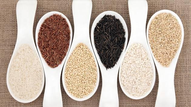Rýže je nespočet druhů, každý je jiný a specifický