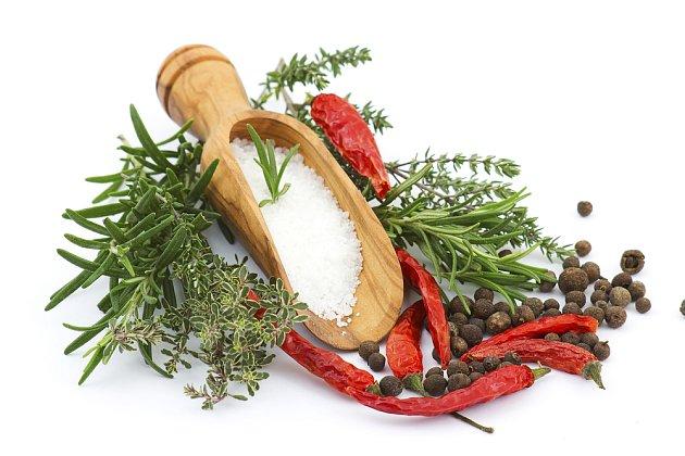 Bylinky a další ingredience