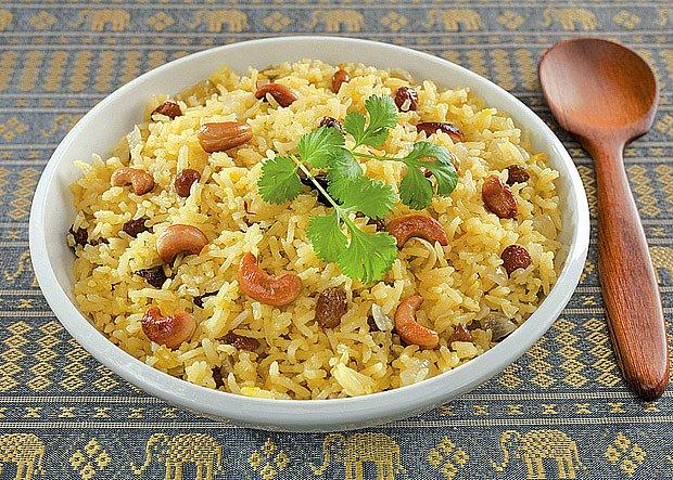 Ořechová rýže
