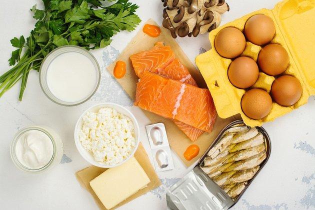 Kvalitní potraviny nabízejí dostatečné zdroje vitamínů