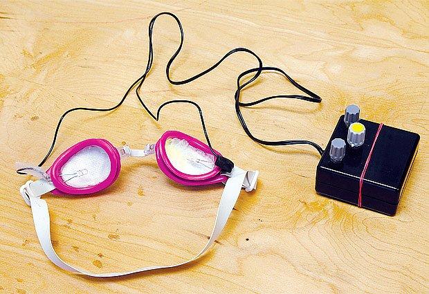 LED brýle